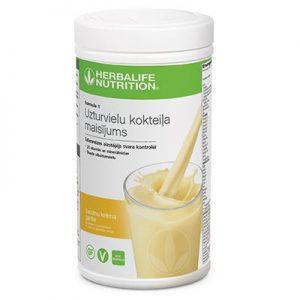 herbalife banana cream