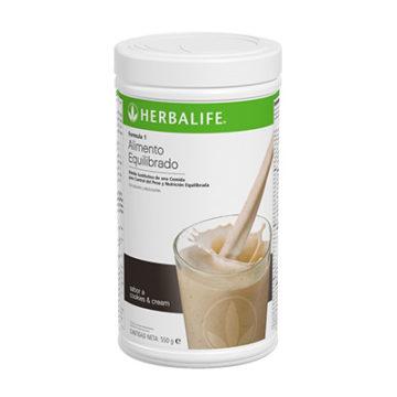 herbalife cookies cream
