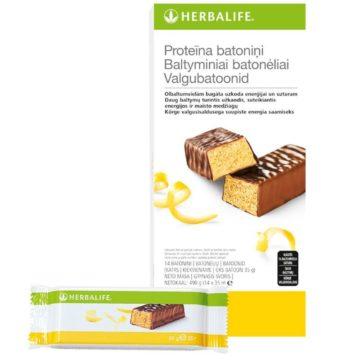 Herbalife baltyminis batonėlis